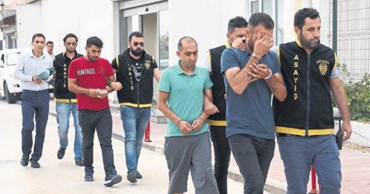 Tekel soyguncuları yakalandı