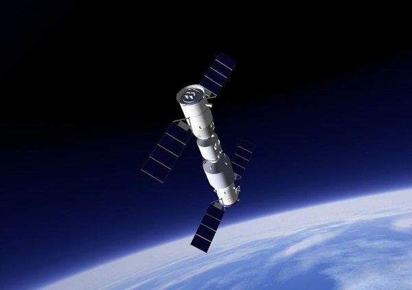 Uzay istasyonu Tiangong-1'in düşeceği bölgeyle ilgili yeni bir tahmin var