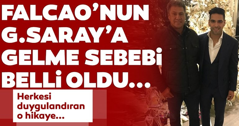 Galatasaray transfer haberleri: Falcao, babasına verdiği sözü tuttu ve Galatasaray'a geldi! O acıklı hikaye...