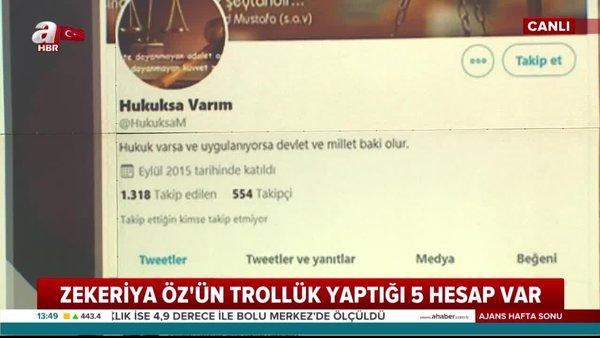 FETÖ'nün Twitter yasağı firari FETÖ'cü Zekeriya Öz'ü trollüğe sürüklemiş | Video