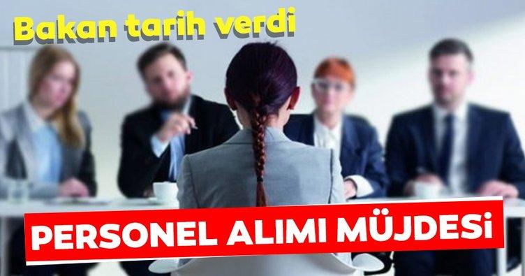 Adalet Bakanı Gül'den son dakika açıklaması! Bayram öncesi personel alımı müjdesi