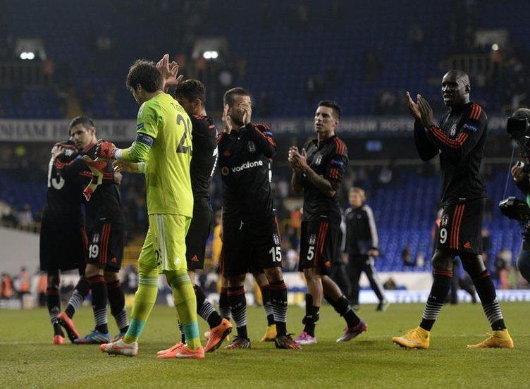 Tottenham – Beşiktaş maçı Twitter'ı salladı