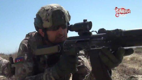 Azerbaycan-Türkiye ortak askeri tatbikatlarına Özel Kuvvetler de katıldı | Video