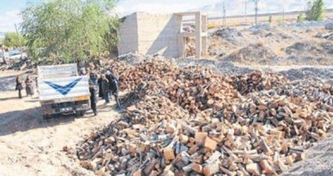 Niğde Belediyesi 50 ton odun yardımı yapacak