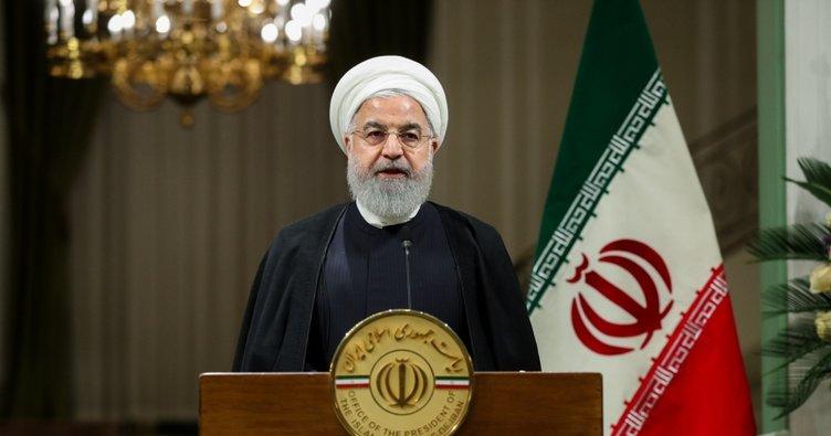 """İran Cumhurbaşkanı Ruhani: """"ABD bölgeyi terk etmeli"""""""