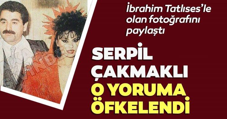 Yeşilçam'ın unutulmaz ismi Sepil Çakmaklı sosyal medyadan İbrahim Tatlıses ile fotoğrafını paylaştı! O yoruma öfkelendi!