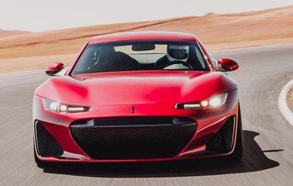 1200 beygirlik elektrikli spor otomobil: Drako GTE