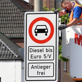 Stuttgart'ta dizel yasağı genişliyor