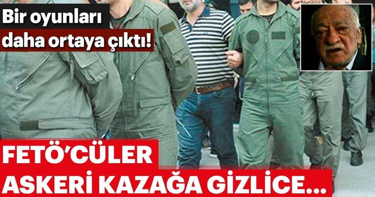 FETÖ'cüler askeri kazağa gizli kamera yerleştirmiş