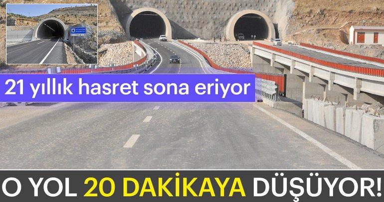 Şırnak'ta 21 yıllık hasret sona eriyor! O yol 20 dakikaya düşüyor...