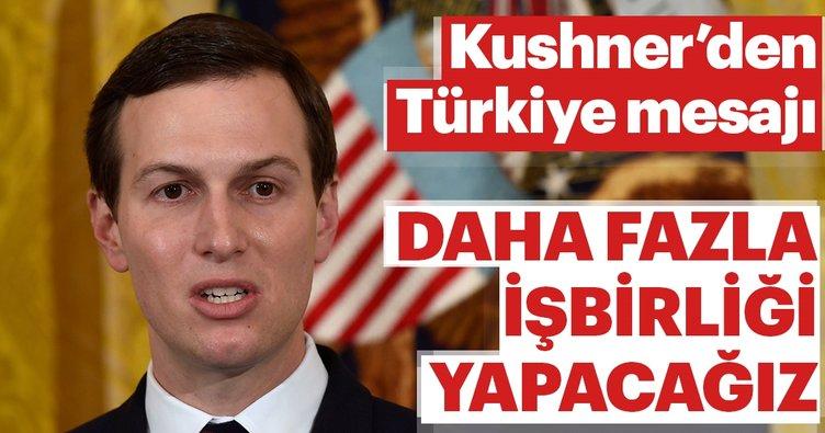 ABD'den Türkiye mesajı