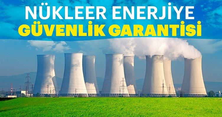 Nükleer enerjiye güvenlik garantisi