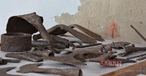 Çanakkale'de 1500 yıllık küp buldular! İçinden çıkanlar ise...
