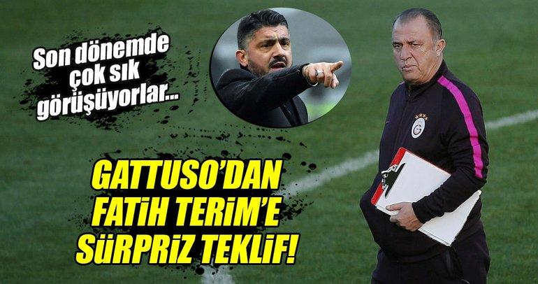 Gattuso'dan Fatih Terim'e sürpriz öneri