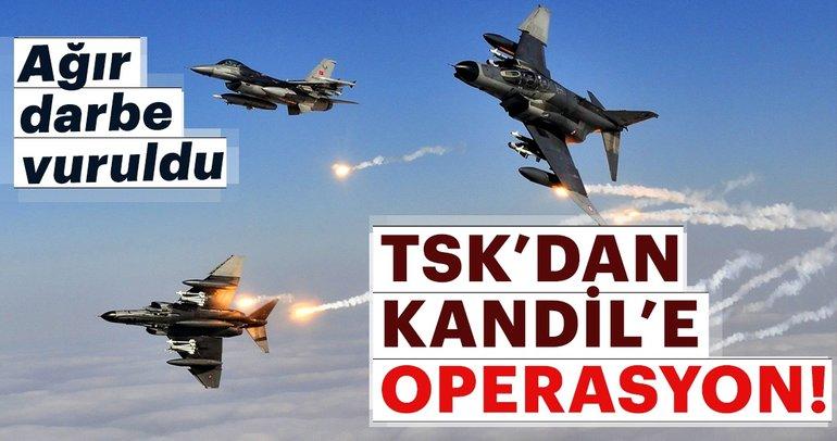 TSK'dan PKK'ya ağır darbe
