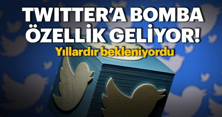 Twitter'a Tweet'leri düzenleme özelliği geliyor! Tweet düzenleme özelliği ne zaman hayata geçecek?