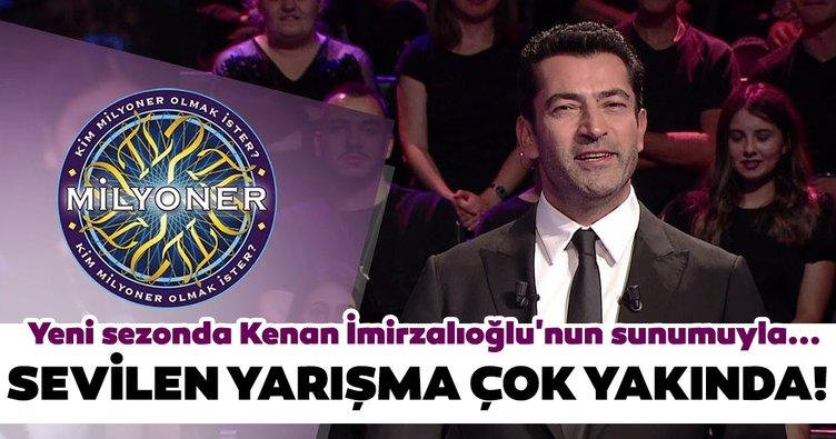 """""""Kim Milyoner Olmak İster?"""" yeni sezonda Kenan İmirzalıoğlu'nun sunumuyla ekranlara gelecek!"""