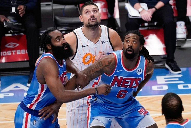 NBA'de Harden yeni takımı Brooklyn Nets kariyerine rekorla başladı