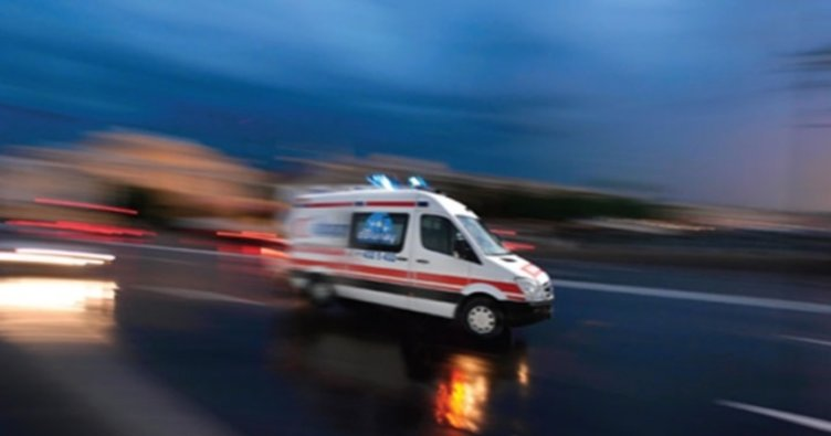 Kırşehir'de motosiklet devrildi: 1 ölü