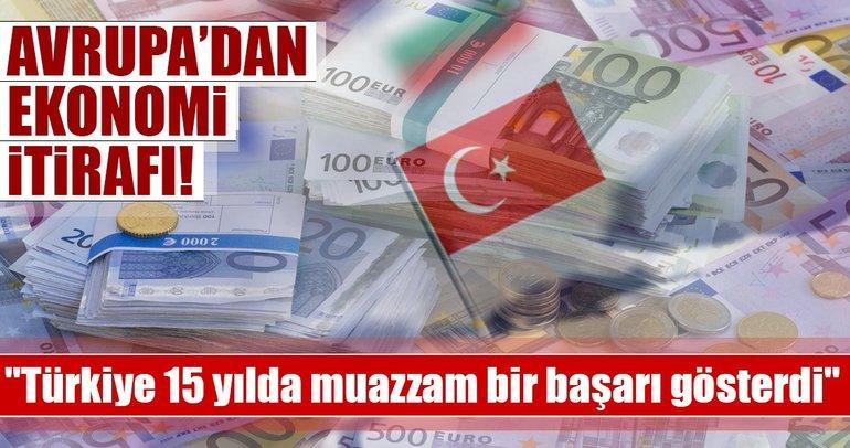 EBRD: Türkiye 15 yılda muazzam bir başarı gösterdi