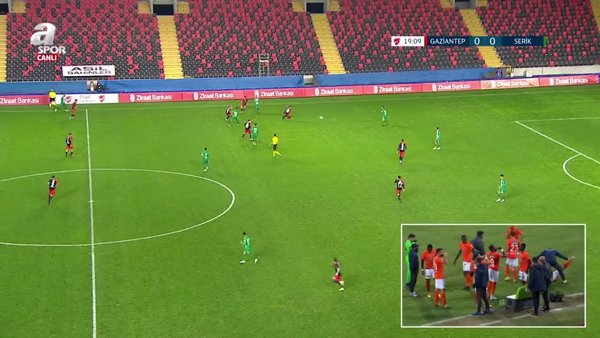 GOL | Gaziantep FK 1-0 Serik Belediyespor