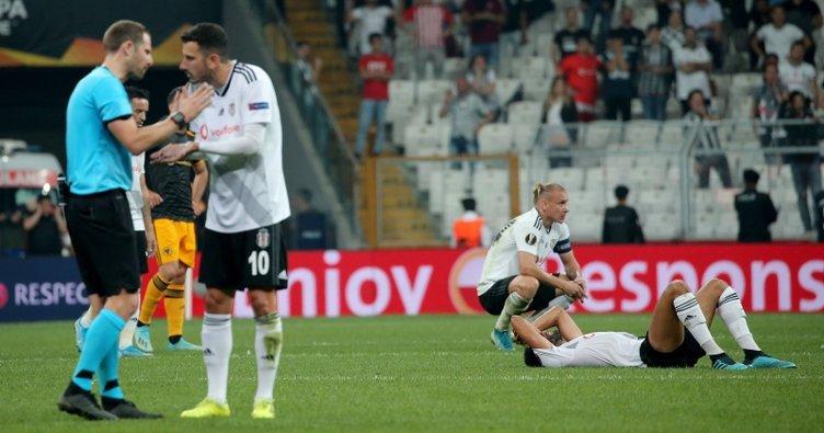 Beşiktaş'ta yine hüsran: Galibiyet hasreti 5 maça çıktı