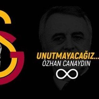 Galatasaray Kulübü, Özhan Canaydın'ı andı
