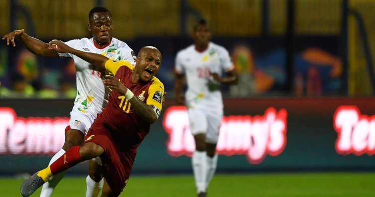 Andrew Ayew'in golü Gana'ya galibiyeti getirmedi