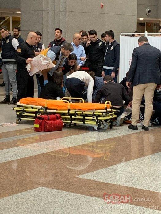 Çağlayan'daki İstanbul Adalet Sarayı'nda intihar