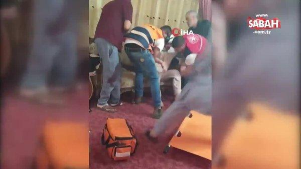 İsrail askerlerinin Filistinli aileye saldırı anı görüntüleri ortaya çıktı | Video