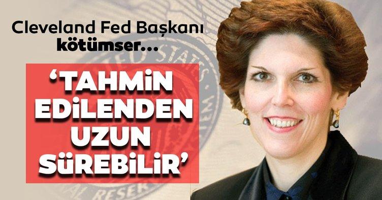 Cleveland Fed Başkanı Mester: Yeniden açılma fazı, tahmin edilenden daha uzun sürebilir