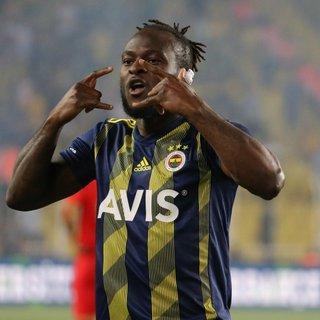 Fenerbahçe'de sezonun ilk golü Victor Moses'tan