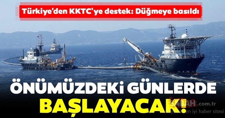 Türkiye'den KKTC'ye destek: Ve düğmeye basıldı! Önümüzdeki günlerde başlayacak...
