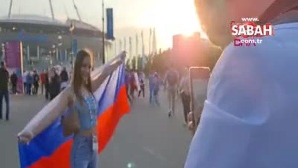 Rusya'da ilginç olay! Gece 22.00'da gündüz maçı | Video