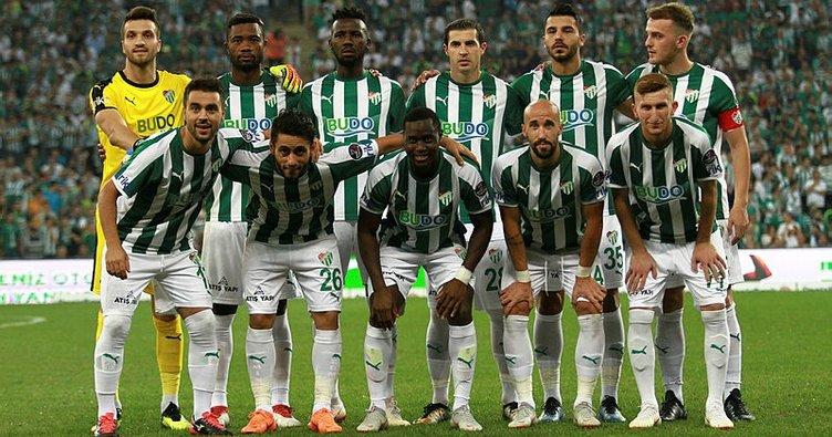Bursaspor'dan 12 sezon sonra ilk
