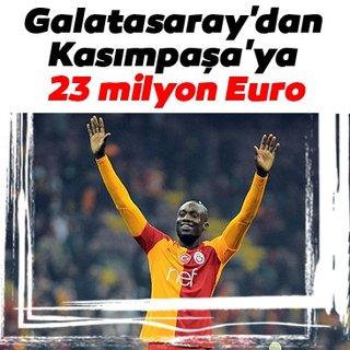 Galatasaray'dan Kasımpaşa'ya 23 milyon Euro