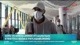 Trabzonspor'un Chelsea'den transferi Lewis Baker İstanbul'da! | İZLE