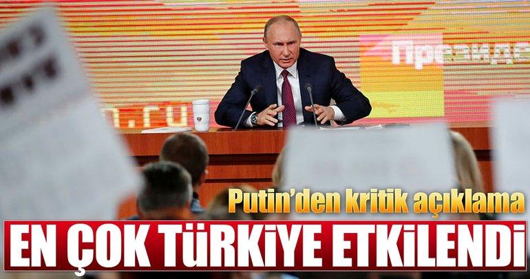 Putin: Mülteci krizinden en çok Türkiye etkilendi
