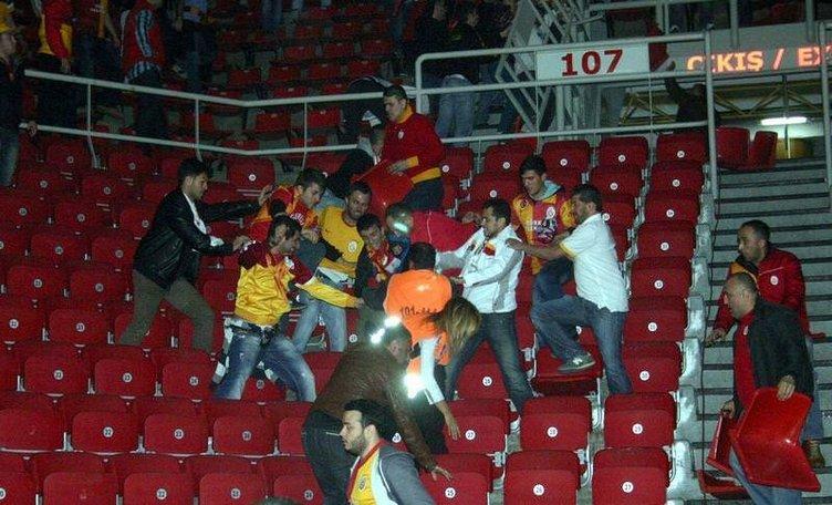 G.Saray-Karşıyaka maçında olay