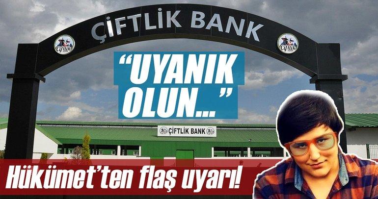 Bakan Tüfenkci'den çok önemli Çiftlik Bank uyarısı!
