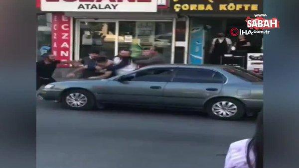 İstanbul'da yaşanan tekme ve yumruklu kavgalar kamerada | Video