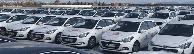 Yenikapı'daki araçlar Edirnekapı'ya çekildi!