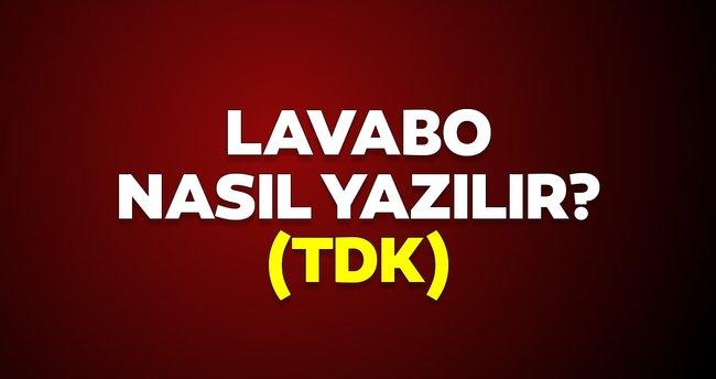 Lavabo nasıl yazılır? TDK'ye göre lavobo mu yoksa lavabo olarak mı yazılır? İşte doğru yazımı