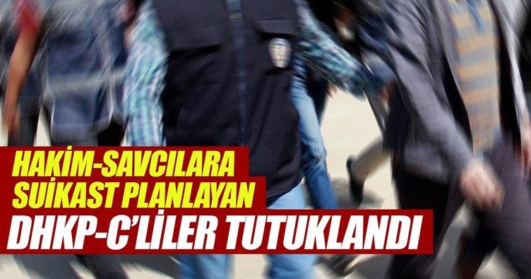 Hakim-Savcılara suikast planlayan DHKP-C'liler tutuklandı