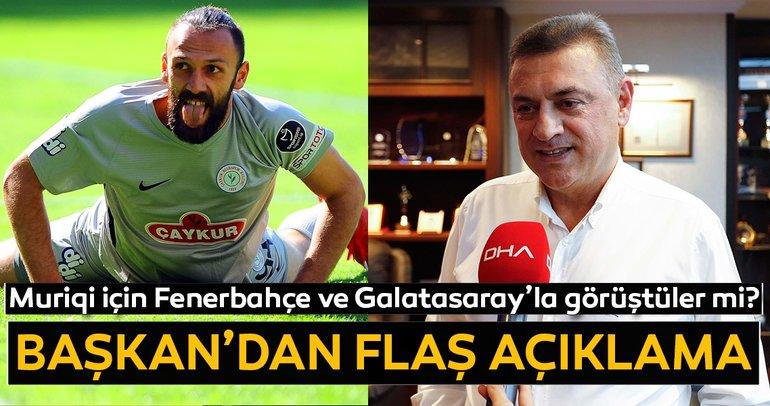 Son dakika transfer haberi: Vedat Muriqi'yi resmen açıkladı! Galatasaray ve Fenerbahçe...