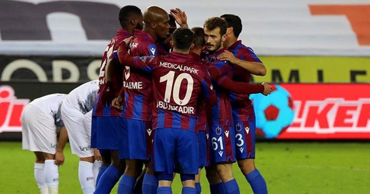 Trabzonspor'dan rahat galibiyet! Trabzonspor 3-1 Konyaspor