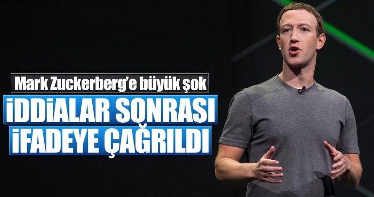Facebook'un kurucususu Zuckerberg, İngiltere'de ifadeye çağrıldı