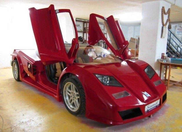 Türk Yapımı Ferrari 'Şamil'
