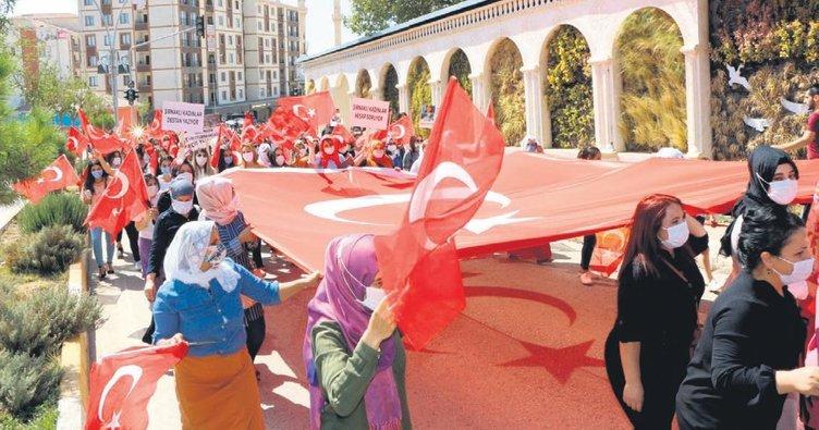 Şırnaklı kadınlardan HDP ve PKK'ya tepki