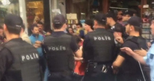 İstanbul'da izinsiz gösterilere müdahale